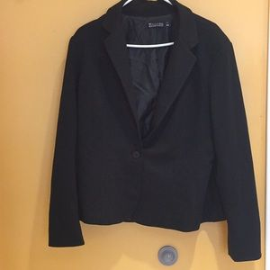 New York And Company Size 16 Black Jacket